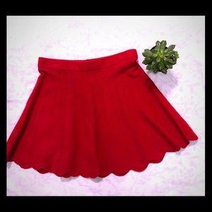 Candies scalloped Circle Skirt